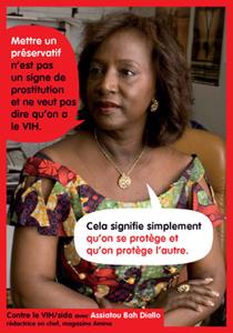 Contre le VIH/Sida avec Assiatou Diallo