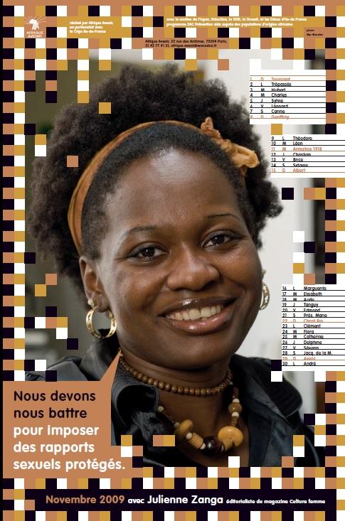 Contre le VIH/Sida avec Julienne ZANGA