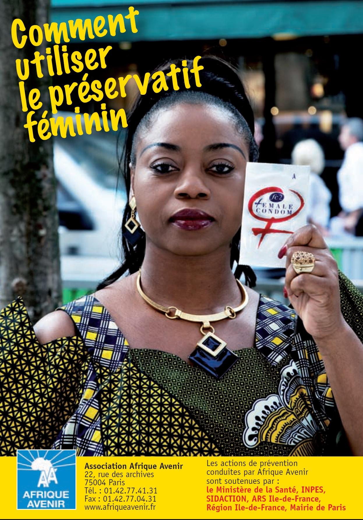 Mode d'emploi préservatif féminin