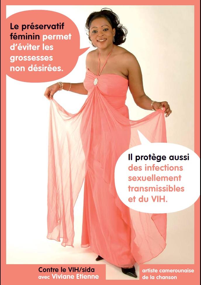 Contre le VIH/Sida avec Viviane Etienne