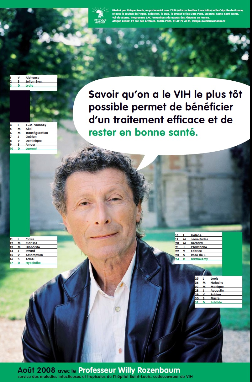 Contre le VIH/SIDA avec le Professeur Willy ROSENBAUM