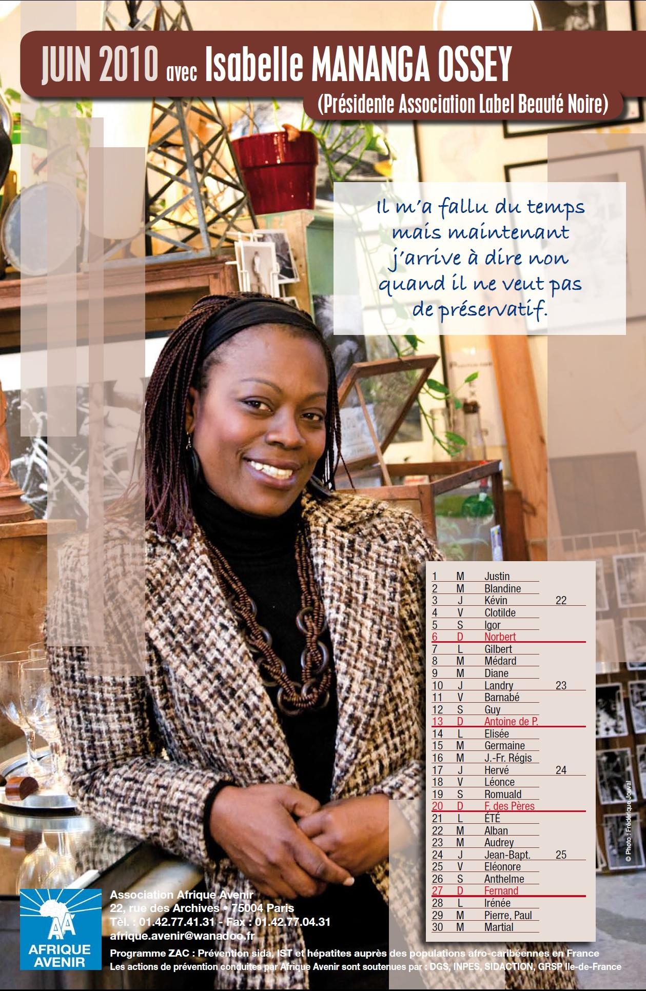 Contre le VIH/Sida avec Isabelle MANANGA OSSEY
