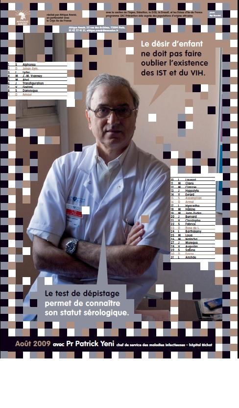 Contre le VIH/Sida avec le Professeur YENI