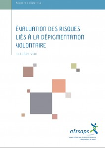 EVALUATION RISQUES LIES A LA DEPIGMENTATION