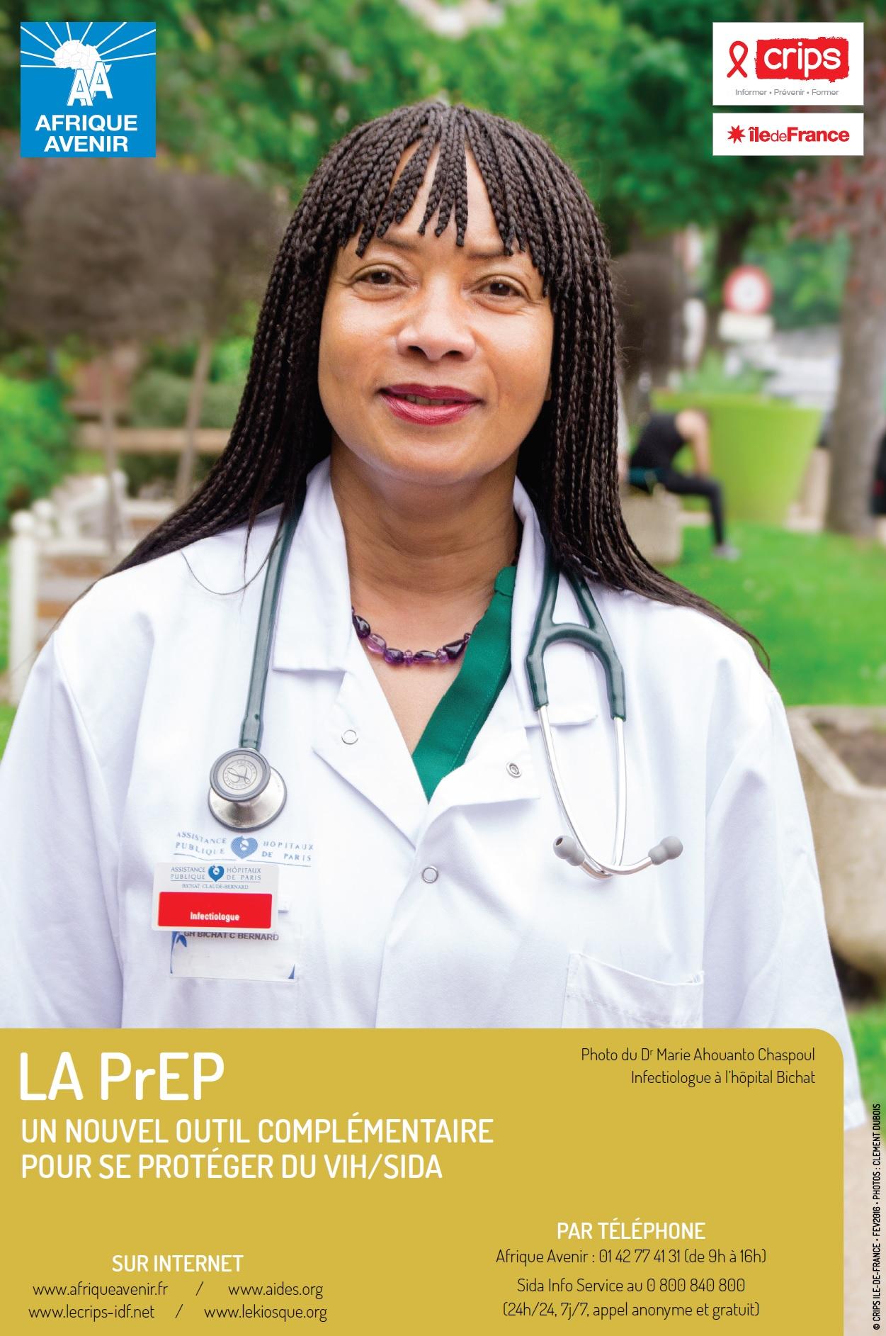 Dépliant la PreP un nouvel outil complémentaire pour se protéger du VIH/Sida